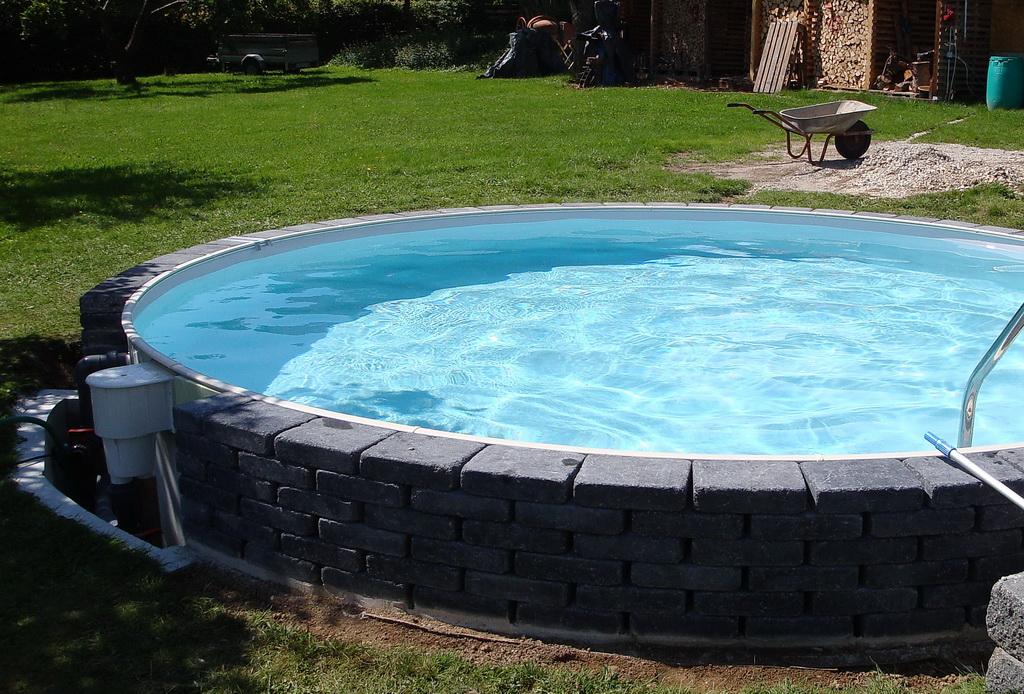 Bau rundbecken 500 x 120 cm seite 10 for Quick up pool 120 hoch